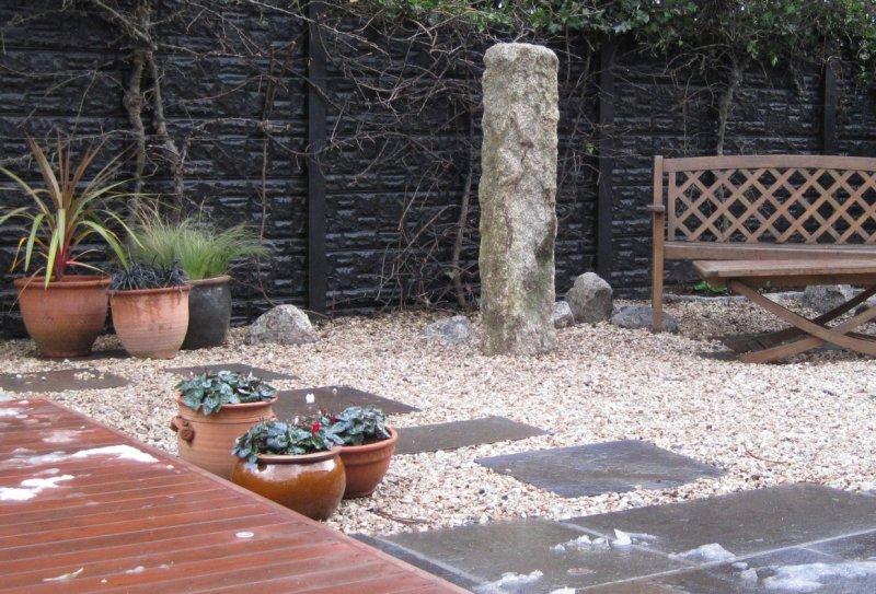 Standing Stone Garden Feature