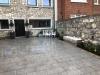 Granite Parking with Corner Patio & Bench