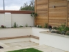 Contemporary Sunken Garden Sitting Area