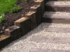 Garden Steps made from Railway Sleepers