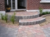 Curved Front Steps