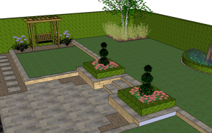 Garden 3D Visualistaion