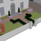 Front Garden Visualisation