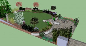Garden Design with Contemporary Twist