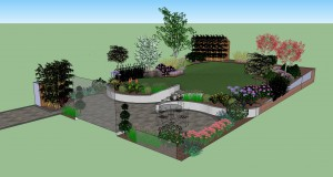 Visualisation Greystones Garden Design