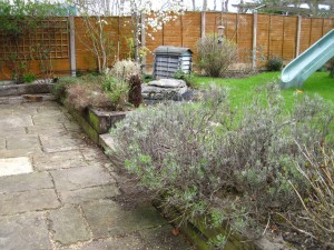Garden Before Re-Design