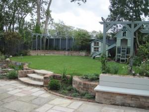 New Garden Design for Entertaining & the Family