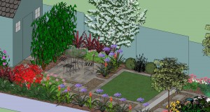 Second Patio of new Garden Design