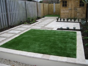 Great Garden Design for a small narrow garden