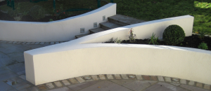 Garden Steps with a Contemporary Twist
