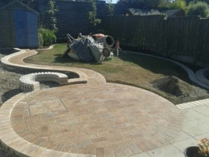 Garden Design nearing Completion