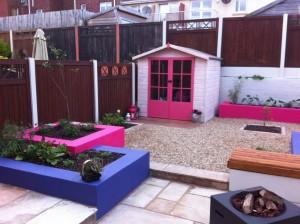 Bold Colour in Garden Design