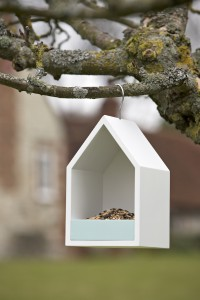 Bird Feeding House