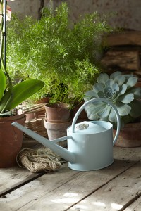 Burgon & Ball Indoor Blue Watering Can