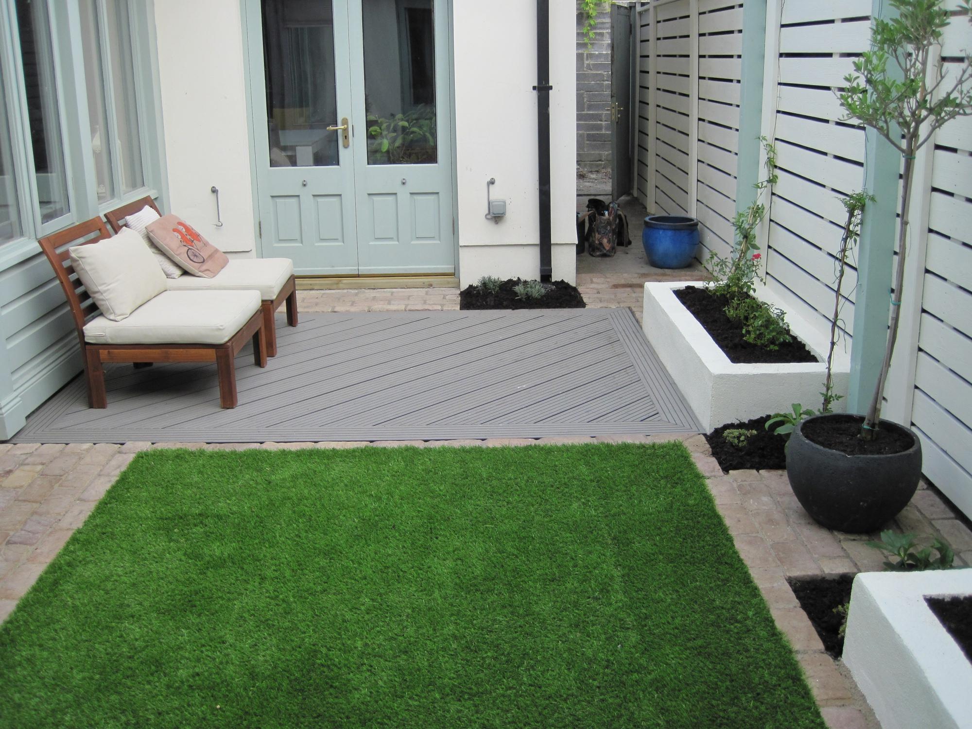 Contemporary Courtyard Garden Design Garden Design Dublin