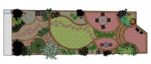 Art Deco Garden Design