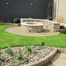 Circular Granite Fire Pit