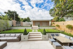 Contemporary Back Garden