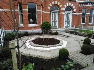 Formal Period Front Garden Design