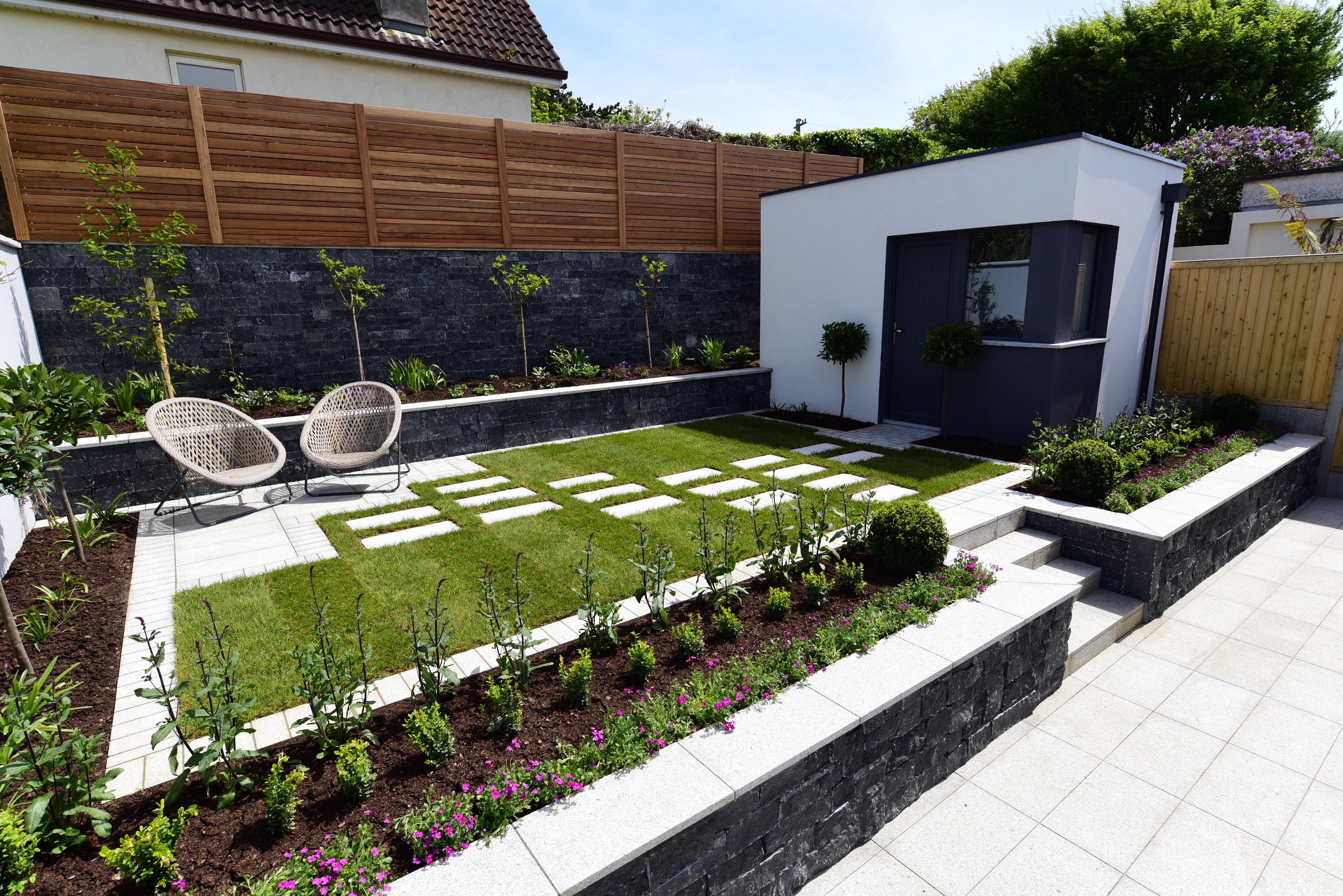 Back Garden Ideas Ireland - Garden and Modern House Image ...